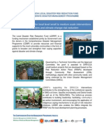 LDRRF Versatile Financing for Local Level Small to Medium Scale Intervention for Disasters and CC Reduction