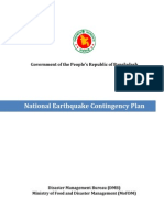 Policy - National Earthquake Contigency Plan