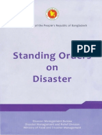 Policy - Standing Order on Disaster (SOD)