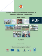 Report - Cyclone Shelter Information for Management of Tsunami and Cyclone Preparedness - 2009