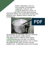 Sabonete e Aromatizador Liquido
