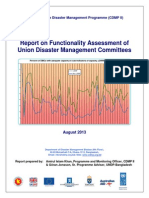 Report- Functionality Assessment of Union DM Committee ( UDMC)