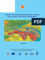 Report - Landslide Hazard Zonation Mapping at Cox's Bazaar and Teknaf in Bangladesh - 2012