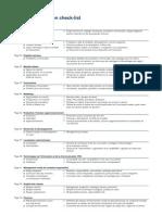 Businessplan Checklist Fr
