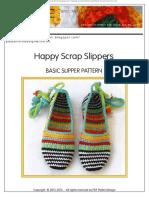 Zapatilla Crochet
