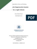 Walker - 2004 - Hydraulic Regenerative Braking System for a Vehicle