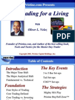 Oliver Velez - Core Trading for a Living