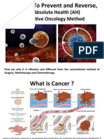 Preventing and Reversing Cancer - The Absolute Health Integrative Oncology Method