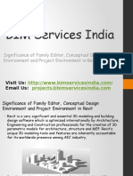 Significance of Family Editor, Conceptual Design Environment and Project Environment in Revit