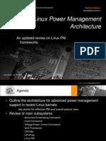 Linux Power Management Architecture