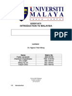 Compiled Essay for Intro to Malaysia