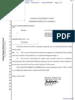 Exact-Science Productions, LLC v. Femme Knits Inc. et al - Document No. 5