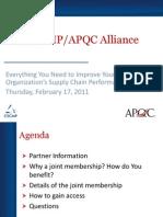 CSCMP_APQC_JointCorporateMembership_2_17_2011.pdf