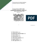 Motectorum quatuor vocum 1-7 / Costanzo Porta