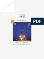 Viking Offshore and Marine Limited Annual Report 2014