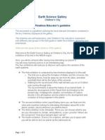 esg timelines educators guideline