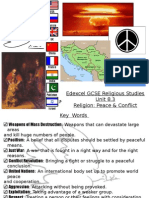 revision guide - religion, peace & conflict