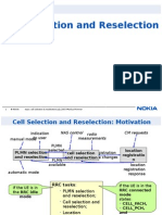 Cell Selection & Reselection