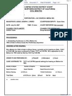 Hostway Corporation v. IAC Search & Media, Inc. - Document No. 11