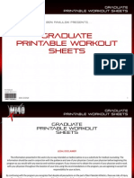 MI40-X - Workout Sheets - 2. 'Graduate' (Intermediate)