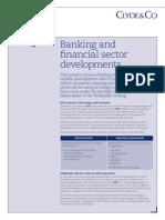 Clyde & Co Tanzania, April 2015 Finance Briefing