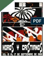 1989 - Libro Oficial de Fiestas de Moros y Cristianos de Ibi