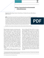 Affective Priming of Perceived Environmental Restorativeness