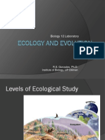 Bio 12 - Ecology Post Lab