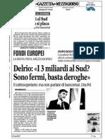 5 Miliardi Di Euro Pac Fondi Per Il Mezzogiorno Scipatti News 2014-11-06 Delrio061114