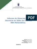 Informe de Practica Nb4