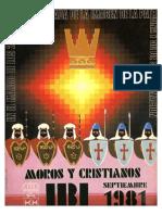 1981 - Libro Oficial de Fiestas de Moros y Cristianos de Ibi
