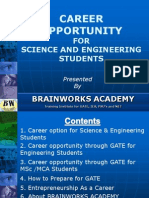 1. Career Option for Science & Engineering Students