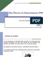 Plan Maestro de Mantenimiento PMM