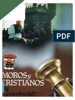 1977 - Libro Oficial de Fiestas de Moros y Cristianos de Ibi