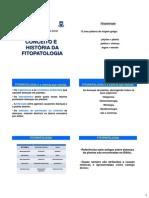 Fitopatologia Geral - CONCEITOS