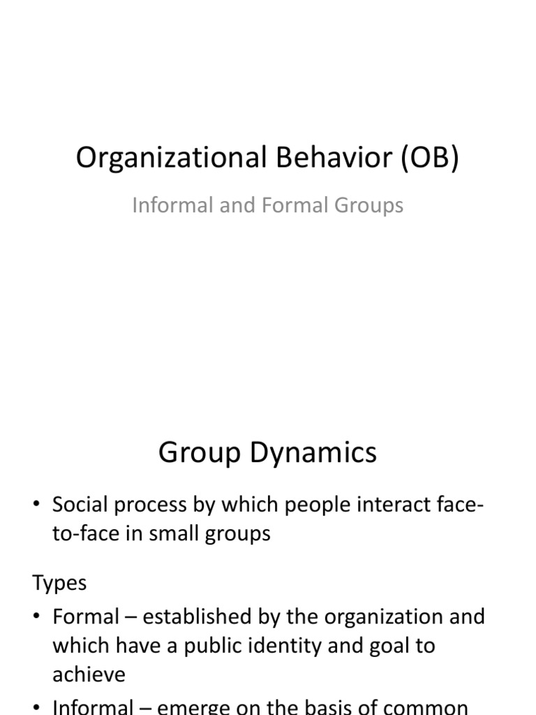 types of formal groups