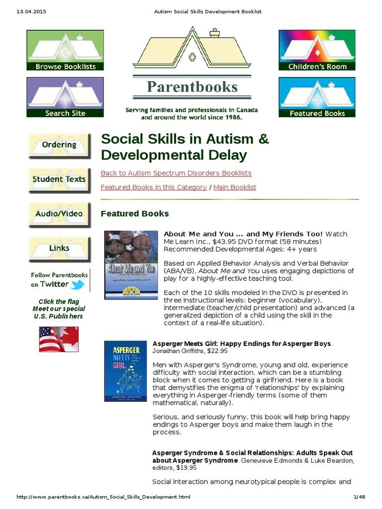 Autism social skills development booklistpdf autism autism spectrum fandeluxe Gallery