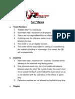 northeast 7on7 championship rules