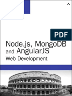 Node.js, MongoDB, And AngularJS Web Development