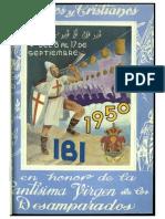 1950 - Libro Oficial de Fiestas de Moros y Cristianos de Ibi