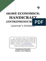 He - Handicraft - Entrepreneurship