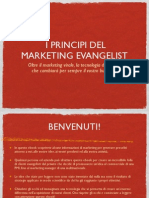 Metti il TURBO alle vendite con il manuale del Marketing Evangelist!