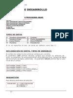 Apuntes ABAP de MSS