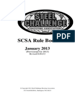 Steel Challenge Rules 2013