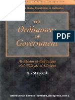 Al-Mawardi - The Ordinances of Government - Al-Ahkam as-Sultaniyyah
