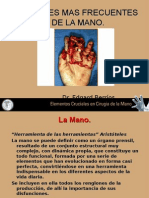 Conf. Lesiones Mas Frec. de La Mano
