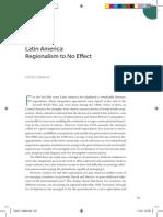 Latin America- Interreginalism No Effect
