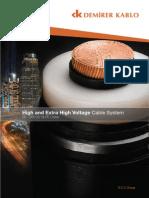 MV, HV, EHV Cable Catalogue - DEMiRER