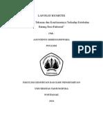 laporan biometri Faktorial