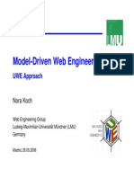 Diap Model Driven WebEngineering UWE Approach